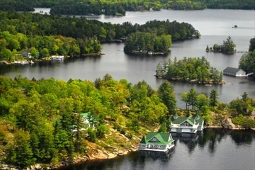 Muskoka Cottage Scenic Flight